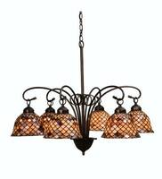 Meyda Tiffany Fishscale 6-Light Chandelier