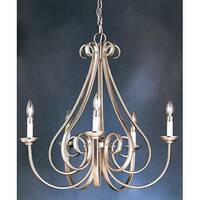 Kichler Dover II 5-Light Chandelier - Brushed Nickel