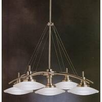 Kichler Structures 5-Light Chandelier - Brushed Nickel