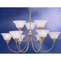 Kichler Telford 9-Light Brushed Nickel Chandelier