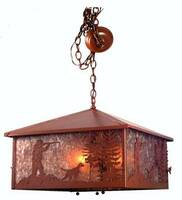 Meyda Tiffany Quail Hunter 3-Light Pendant