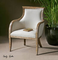 Uttermost Quintus Arm Chair