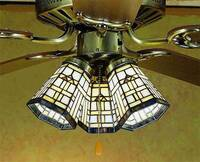 Meyda Tiffany Arrowhead Mission Fanlight Shade