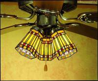 Meyda Tiffany Prairie Corn Fanlight Shade