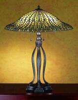 Meyda Tiffany Fishscale Table Lamp