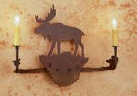 Meyda Tiffany Moose 2-Light Wall Sconce