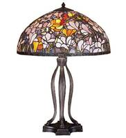 Meyda Tiffany Magnolia Table Lamp