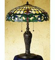 Meyda Tiffany D&K Colonial Table Lamp