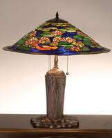 Meyda Tiffany Pond Lily Table Lamp