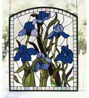 Meyda Tiffany Iris Window