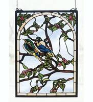 Meyda Tiffany Lovebirds Window