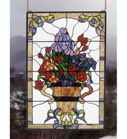 Meyda Tiffany Floral Arrangement Window