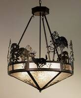 Meyda Tiffany Deer Chandelier