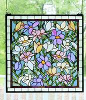 Meyda Tiffany Sugar Magnolia Window