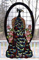 Meyda Tiffany Peacock Window
