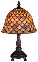 Meyda Tiffany 13.5 Fishscale Mini Lamp