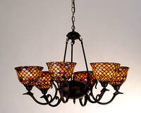 Meyda Tiffany Fishscale Chandelier