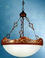 Meyda Tiffany Wave Chandelier