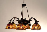 Meyda Tiffany Victorian Tiffany Chandelier