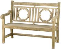 Currey & Company Leagrave Bench - Small