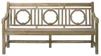 Currey & Company Leagrave Bench - Large