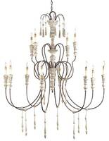 Currey & Company Hannah Chandelier - Large