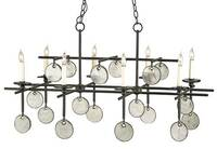 Currey & Company Sethos Rectangular Chandelier