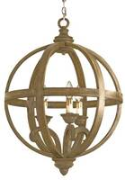 Currey & Company Axel Orb Chandelier - Small