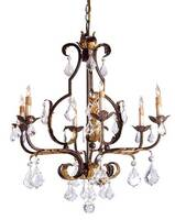 Currey & Company Tuscan Chandelier - Large